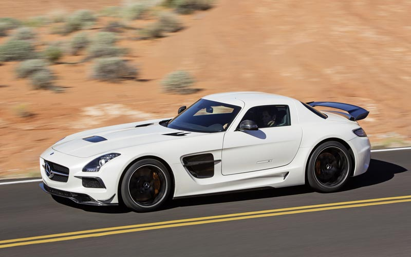 Фото Mercedes SLS Black Series