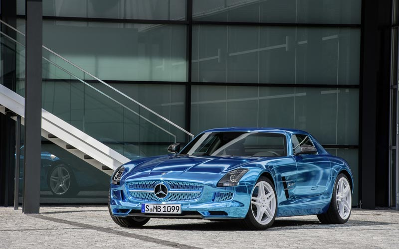 Фото Mercedes SLS AMG Electric Drive