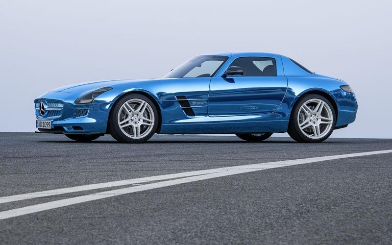 Фото Mercedes SLS AMG Electric Drive