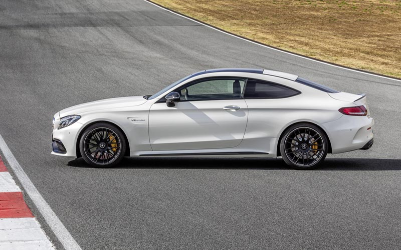 Фото Mercedes C-Class AMG Coupe  (2015-2018)