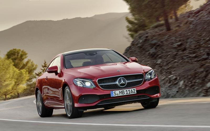 Фото Mercedes E-Class Coupe