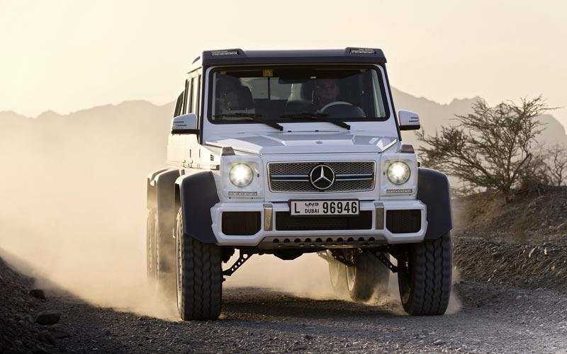 Фото Mercedes G63 AMG 6x6 Showcar