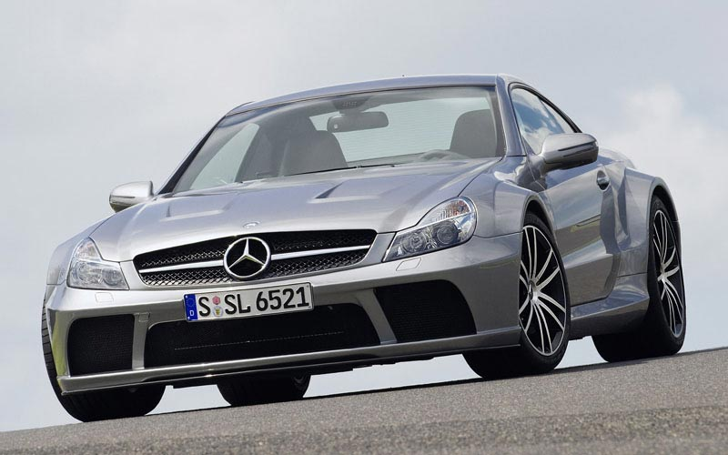 Фото Mercedes SL65 AMG Black Series