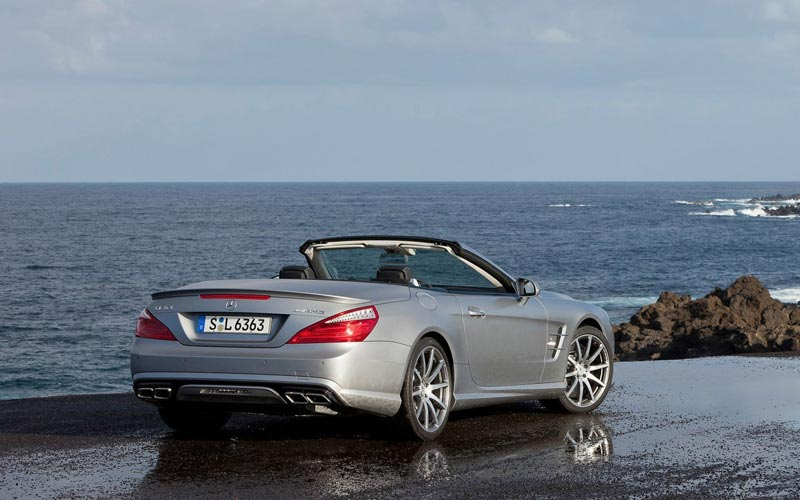 Фото Mercedes SL AMG  (2012-2015)