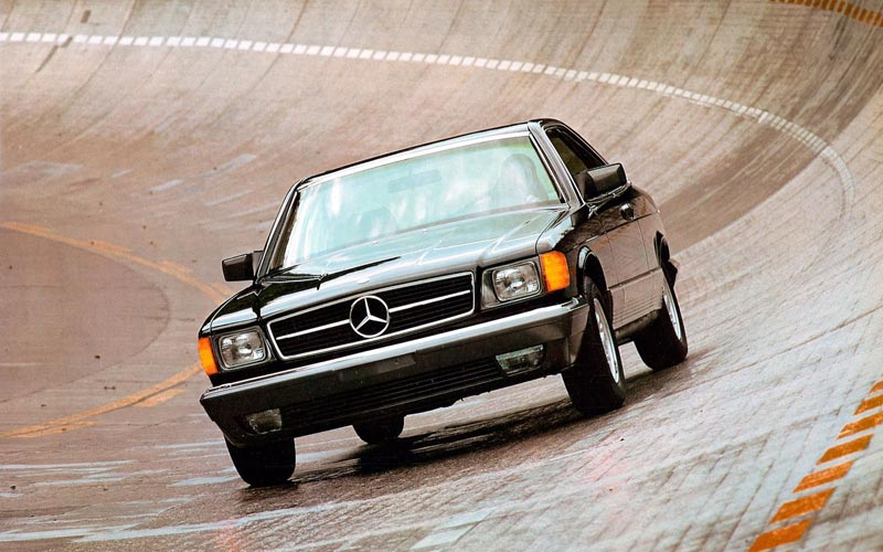 Фото Mercedes S-Class Coupe  (1981-1990)