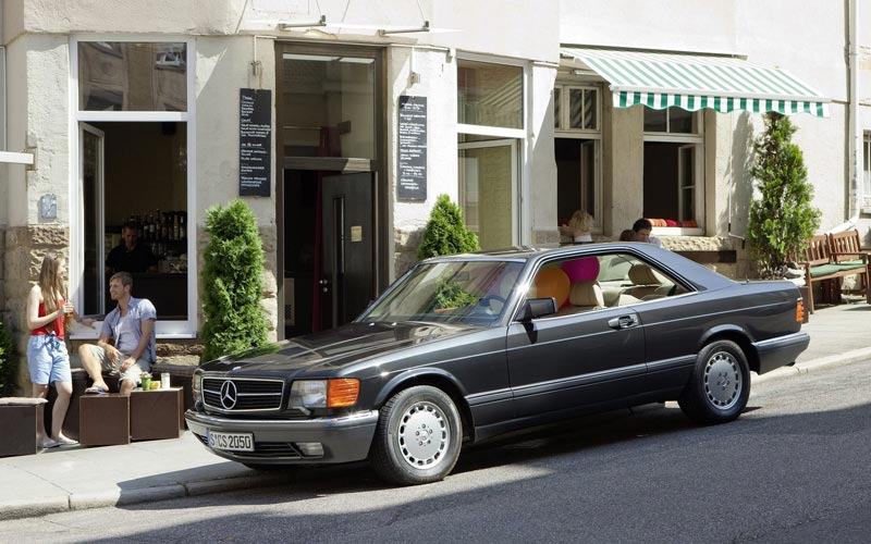 Фото Mercedes S-Class Coupe  (1981-1990)