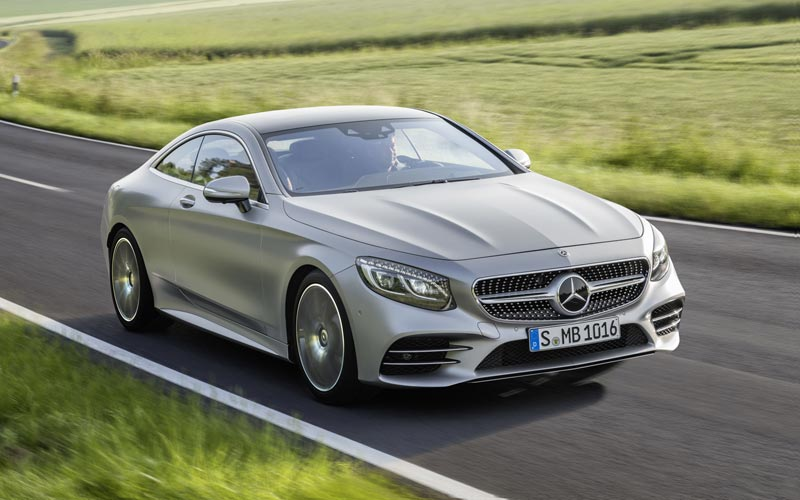 Фото Mercedes S-Class Coupe