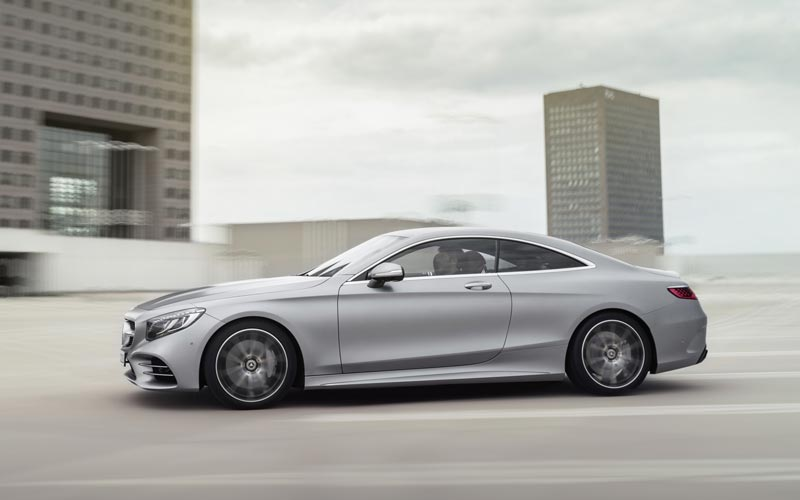 Фото Mercedes S-Class Coupe