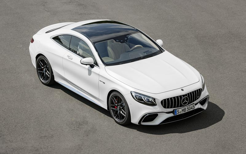 Фото Mercedes S63 AMG Coupe
