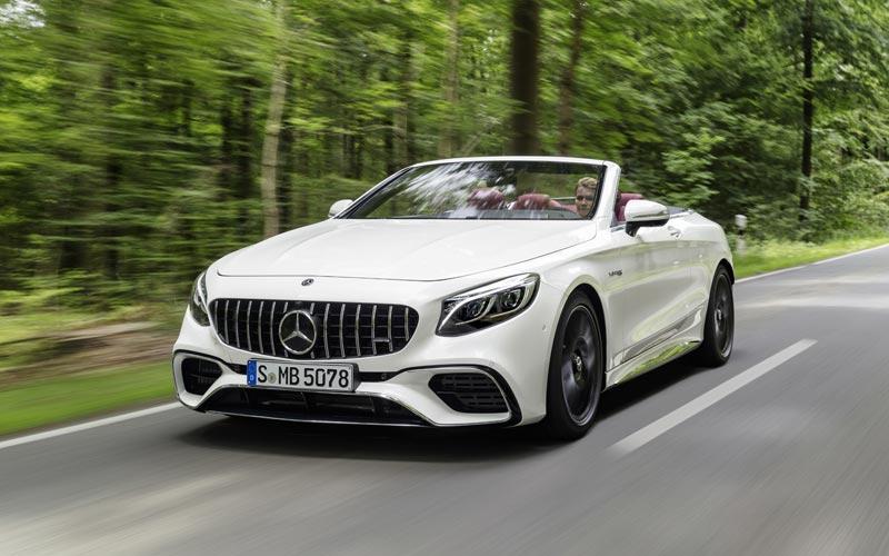 Фото Mercedes S63 AMG Cabrio