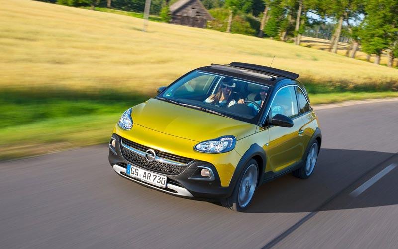 Фото Opel Adam Rocks