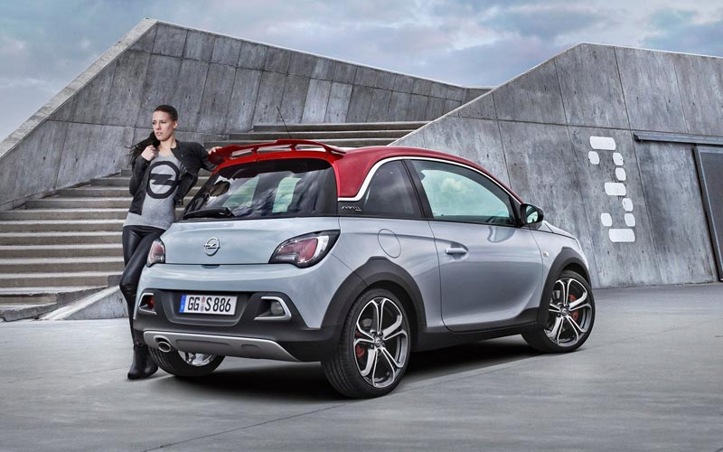 Фото Opel Adam Rocks S