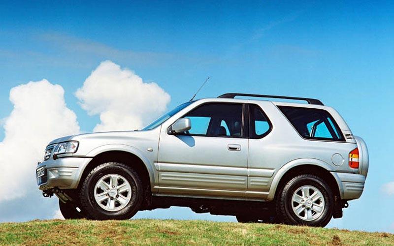 Фото Opel Frontera Sport