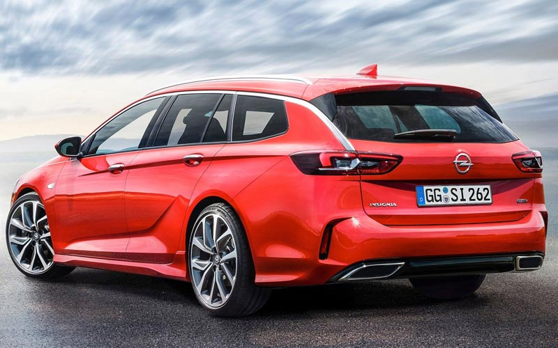 Фото Opel Insignia Sports Tourer GSi