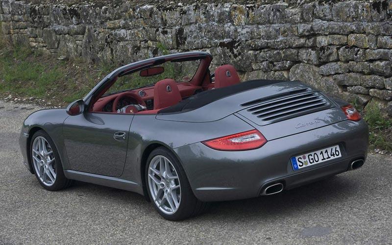 Фото Porsche 911 Cabrio  (2008-2011)