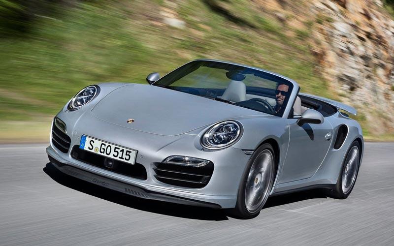 Фото Porsche 911 Turbo Cabriolet  (2013-2015)