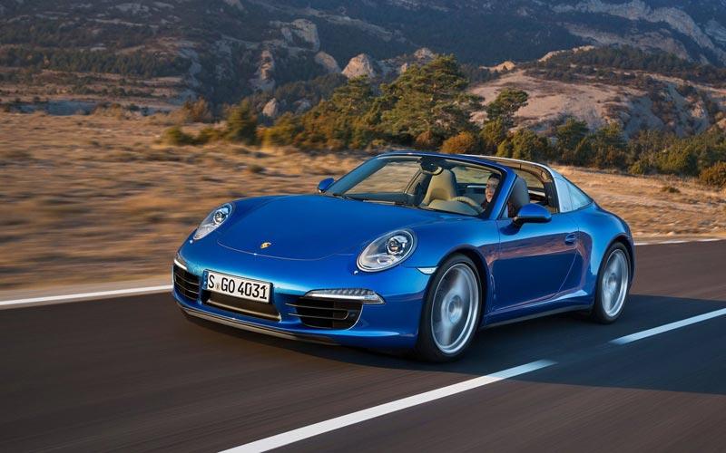 Фото Porsche 911 Targa  (2014-2015)