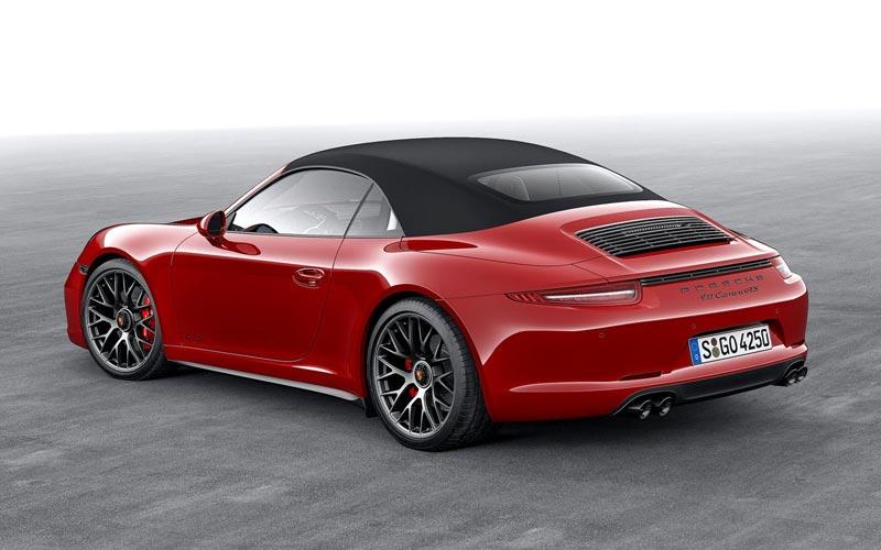 Фото Porsche 911 GTS Cabrio  (2014-2015)