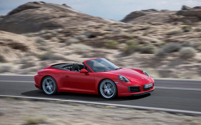 Фото Porsche 911 Cabrio