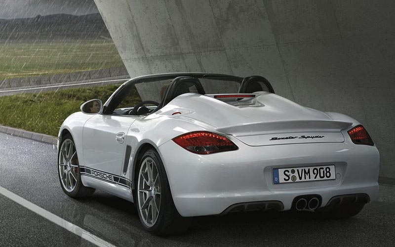 Фото Porsche Boxster Spyder  (2010-2012)