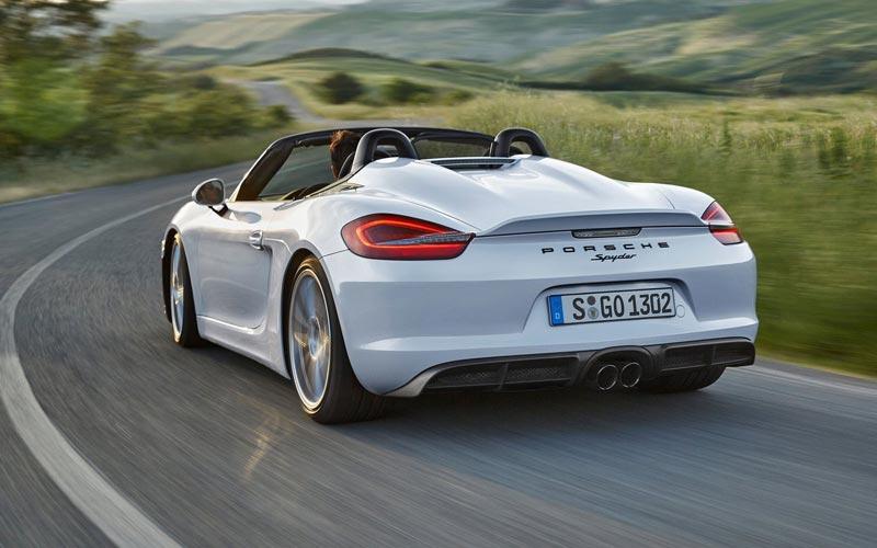 Фото Porsche Boxster Spyder