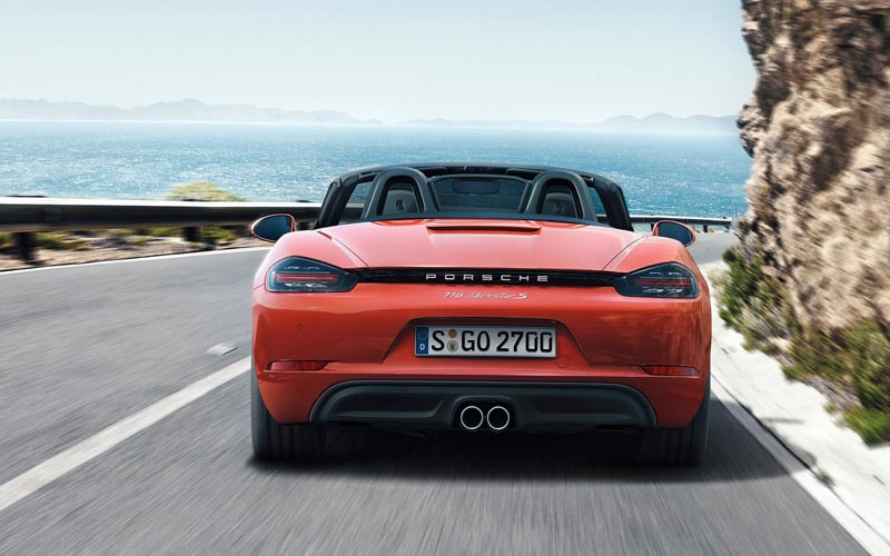 Фото Porsche 718 Boxster