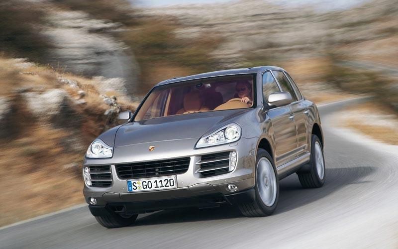 Фото Porsche Cayenne Turbo S  (2008-2010)