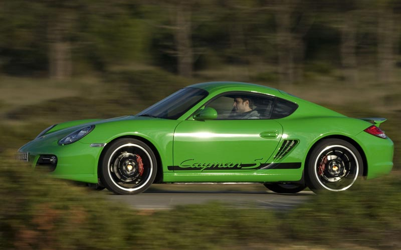 Фото Porsche Cayman  (2009-2012)