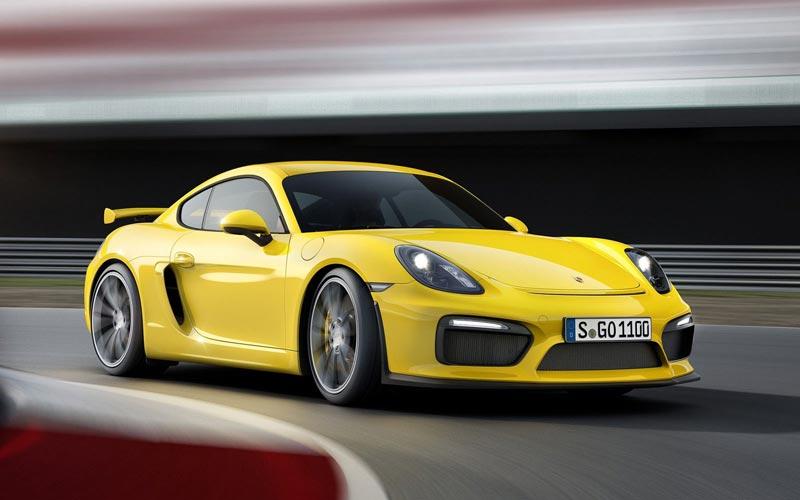 Фото Porsche Cayman GT4