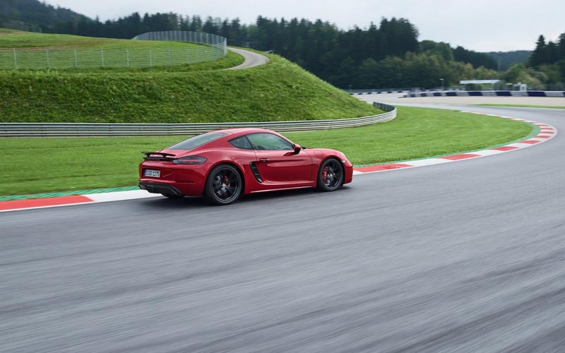 Фото Porsche 718 Cayman GTS
