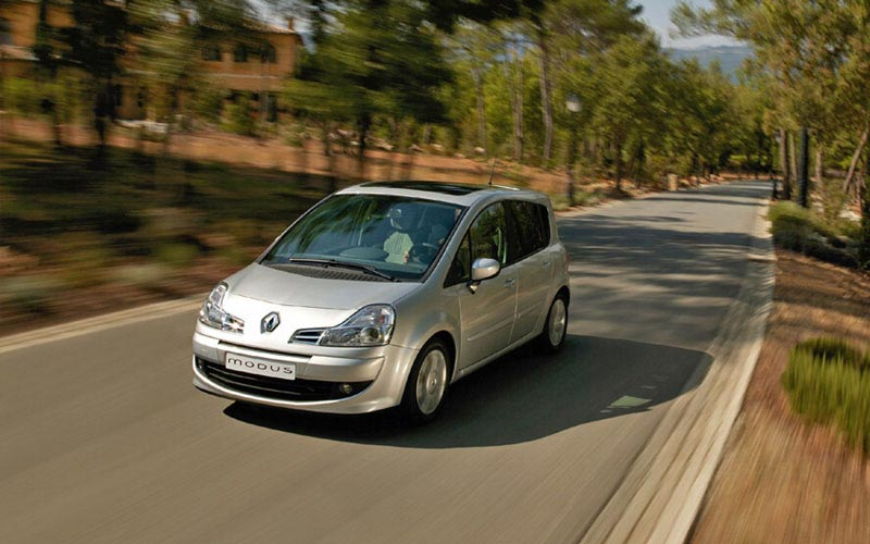 Фото Renault Modus Grand