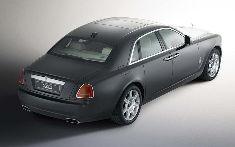 Фото Rolls-Royce 200EX