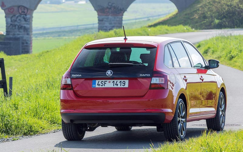 Фото Skoda Rapid Spaceback