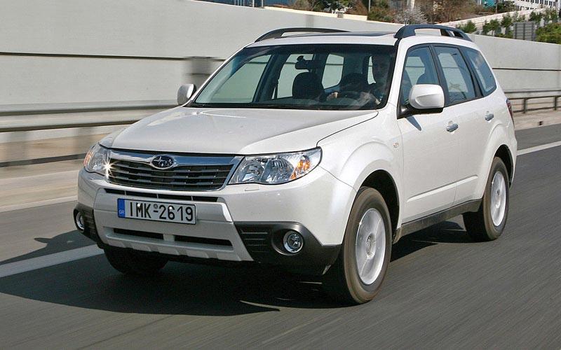 Фото Subaru Forester  (2008-2012)