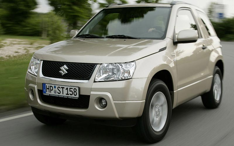 Фото Suzuki Grand Vitara 3D  (2008-2012)