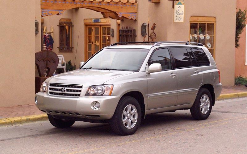 Фото Toyota Highlander  (2001-2004)