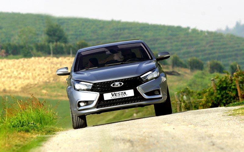 Фото Lada Vesta Concept