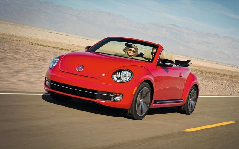 Фото Volkswagen Beetle Convertible