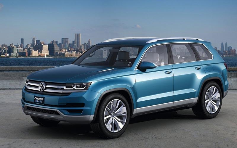 Фото Volkswagen CrossBlue Concept