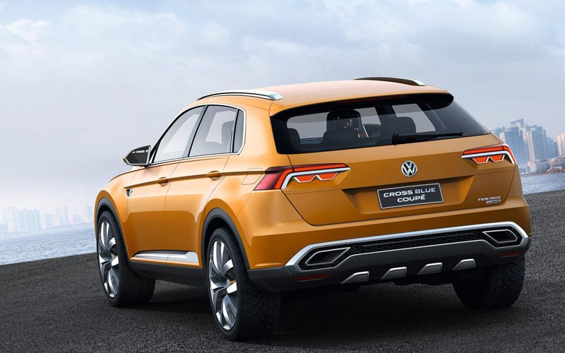 Фото Volkswagen CrossBlue Coupe Concept