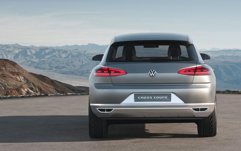 Фото Volkswagen Cross Coupe Concept