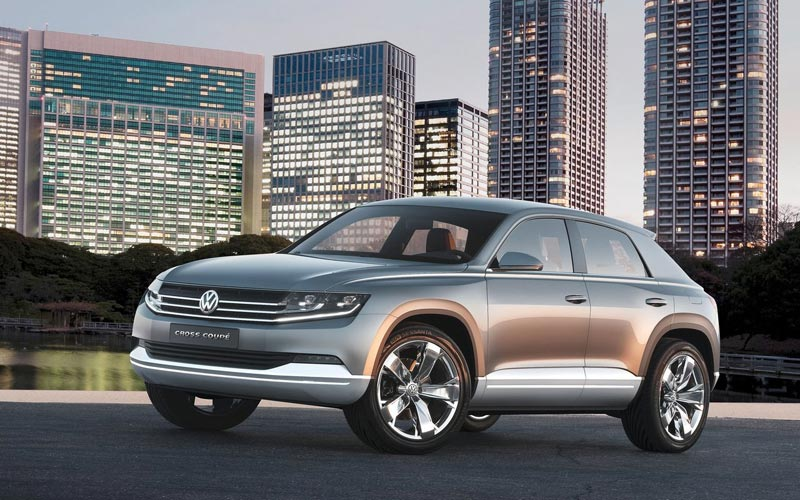 Фото Volkswagen Cross Coupe Concept