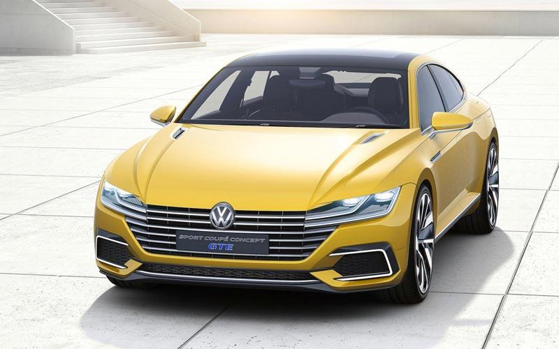 Фото Volkswagen Sport Coupe Concept GTE