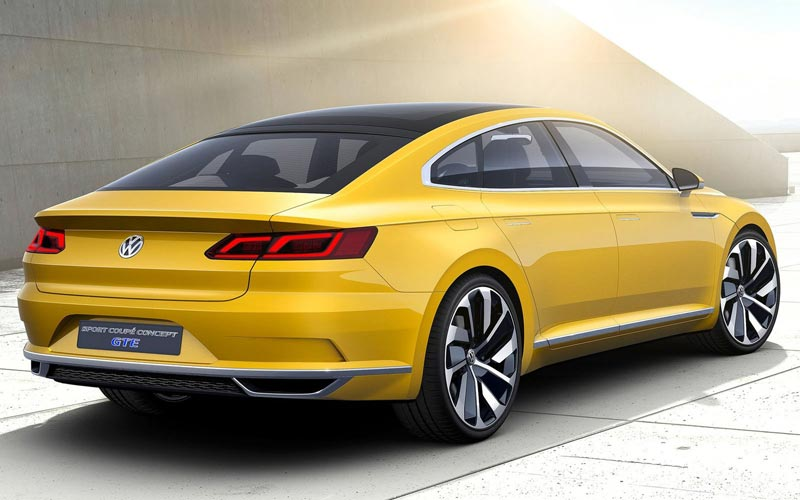 Фото Volkswagen Sport Coupe Concept GTE