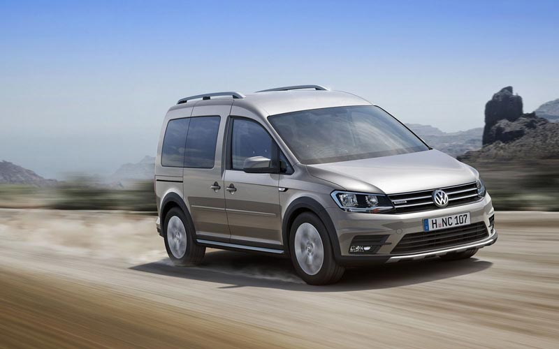 Фото Volkswagen Caddy Alltrack