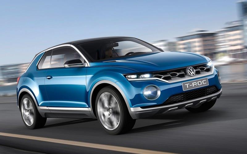 Фото Volkswagen T-Roc Concept