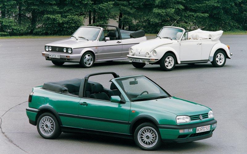 Фото Volkswagen Golf Cabrio  (1992-1998)