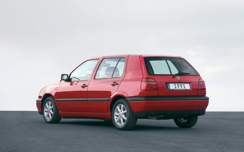 Фото Volkswagen Golf  (1991-1997)