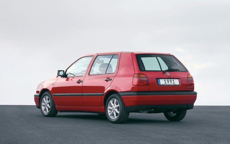 Фото Volkswagen Golf  (1991-1997)