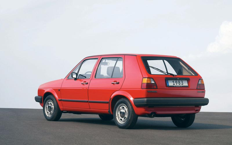 Фото Volkswagen Golf  (1983-1991)